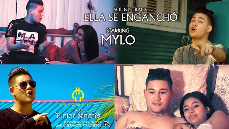 Mylo - ¨Ella se enganchó¨ - Videoclip - Director: Yunior Sánchez. Portal Del Vídeo Clip Cubano