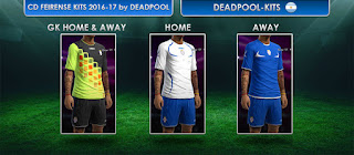 CD Feirense Kits 2016-2017 Pes 2013
