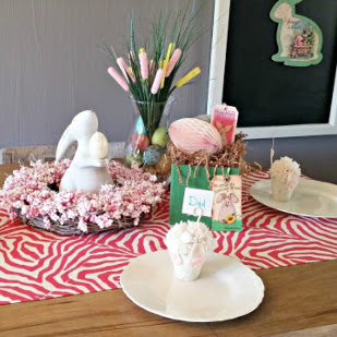 Sweet & Simple Easter Tablescape