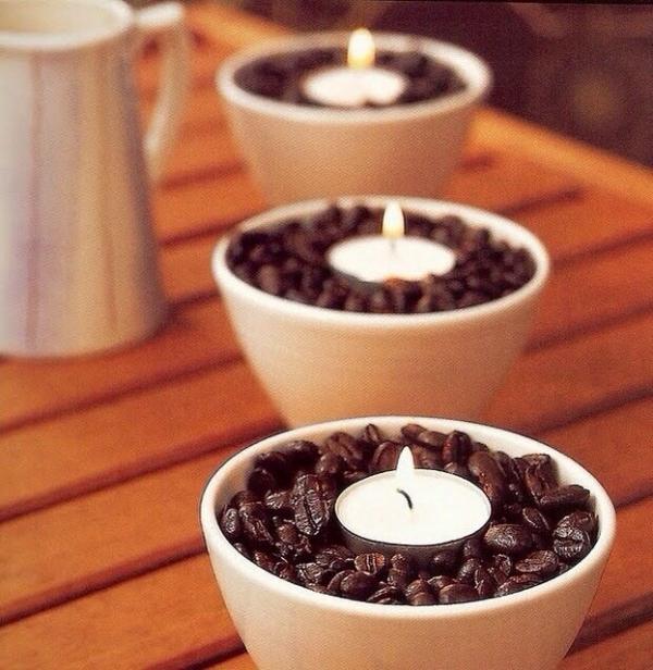 velas de café