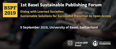 1st Basel Sustainable Publishing Forum - Dialog with Learned Societies: Sustainable Solutions for Successful Transition to Open Access