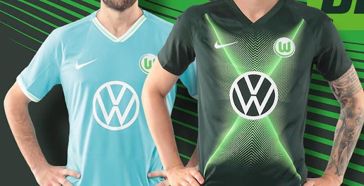 Neues VW Logo: Nike Wolfsburg 19 20 Trikots Veröffentlicht