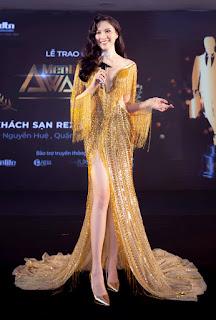 Đôi chân dài 1,1m của MC Đặng Dương Thanh Thanh Huyền