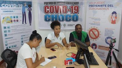 Gobernación del Chocó a través de las Secretarías de Salud y del Interior dio apertura al Puesto de Mando Unificado (COVID-19)