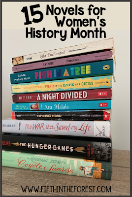 Pin Image for 15 Novels for Women's History Month