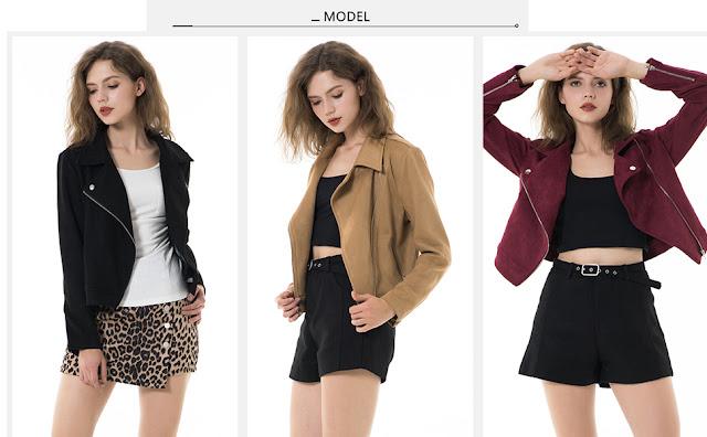 Apperloth Faux Suede Jackets for Women