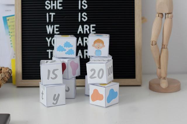 Acitivity cubes - zabawy dla przedszkolaków