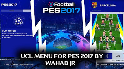 New Champions League Graphic Menu