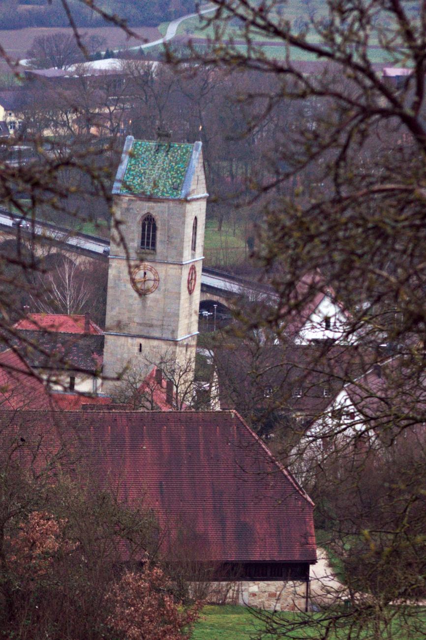 Bilder des Tages #52 — Der schiefe Kirchturm zu Doilfeng