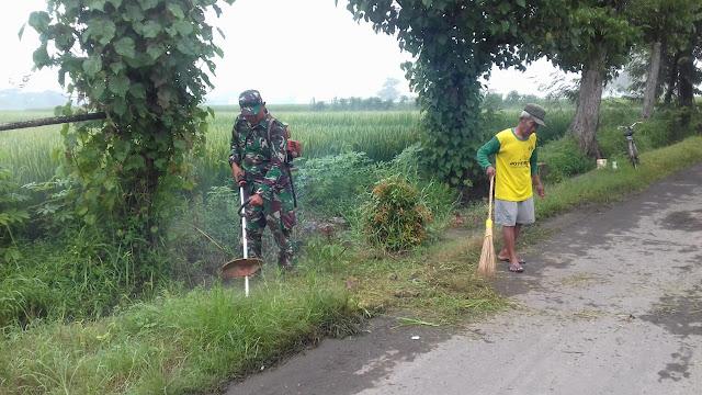 Kerja Bakti Ciptakan Keindahan Desa