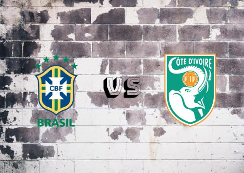 Brazil vs Côte d'Ivoire  Resumen y goles