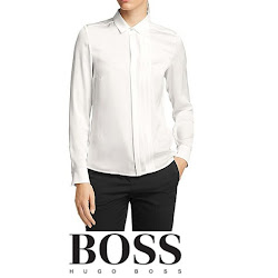 HUGO BOSS Bedina Blouse Queen Letizia Style