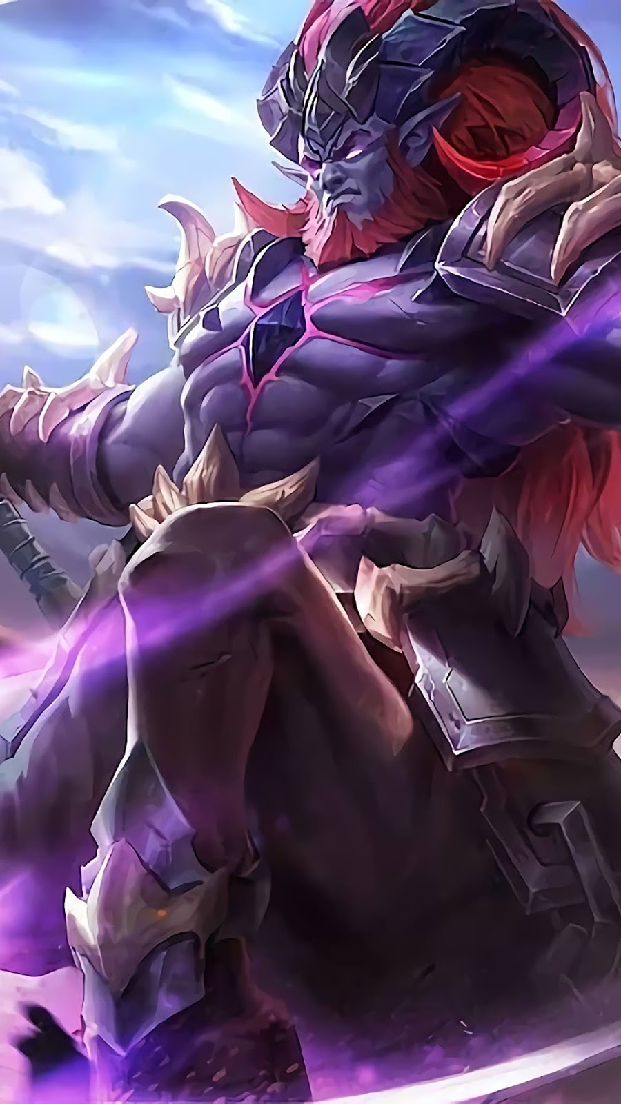 Wallpaper Hylos Abyssal Shaman Skin Mobile Legends HD for Android and iOS