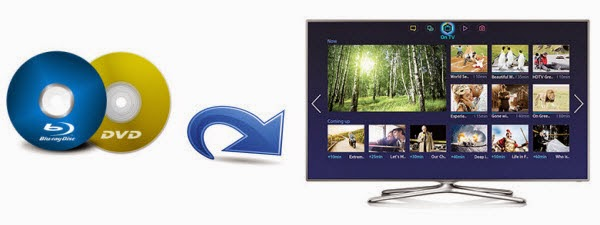 samsung tv dvd. copy blu-ray/dvd for playing on samsung smart tv via us tv dvd
