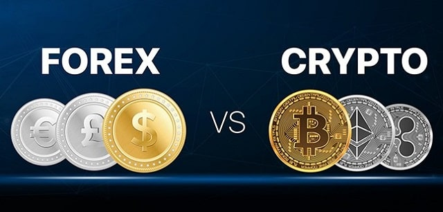 forex trading vs cryptocurrency trades difference fx versus crypto investing