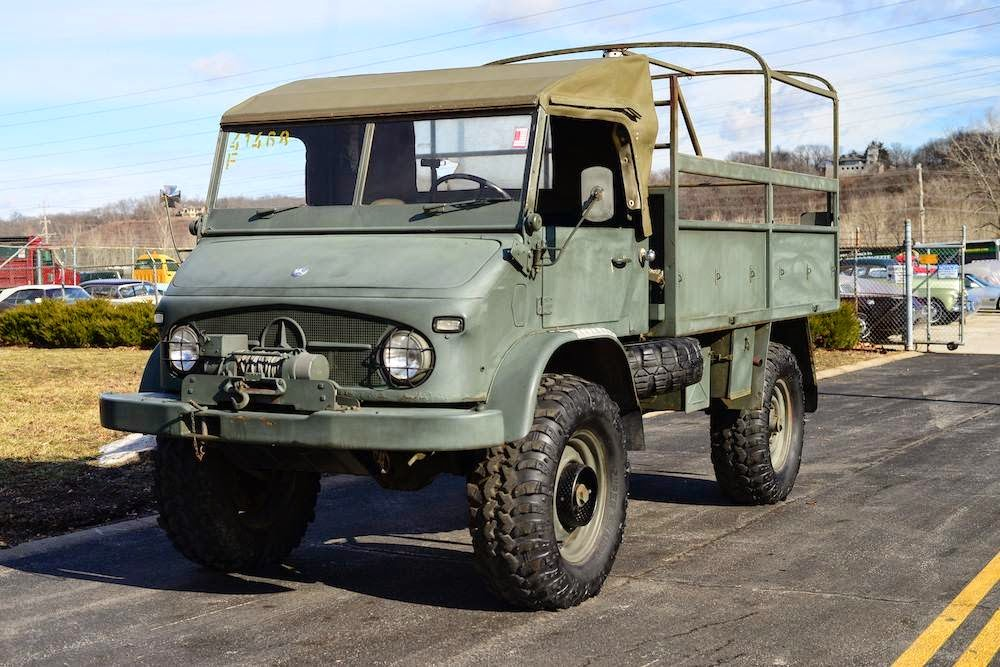 Daily Turismo: U is for Ultimate: 1962 Mercedes-Benz Unimog