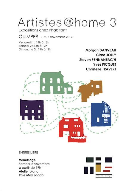 Artistes@home 3 expositions chez l'habitant