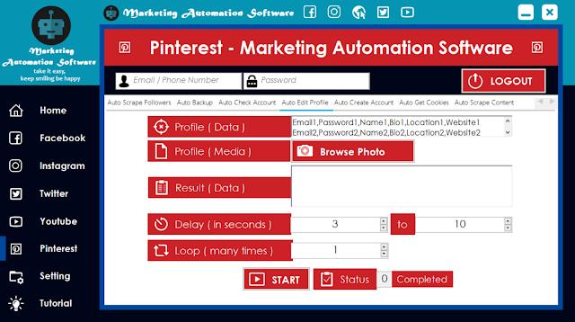 Cara Cepat Edit Data Pinterest Secara Automatis