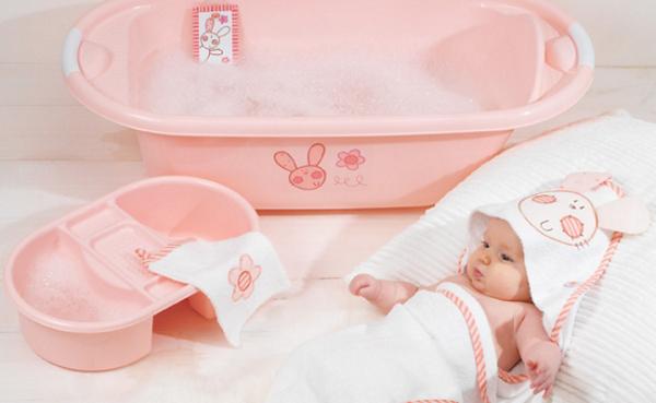 Perlengkapan Mandi Bayi Baru lahir