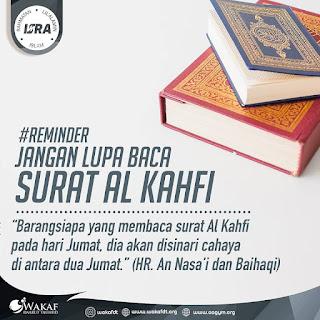 Jangan Lupa Baca Surat Al Kahfi - Qoutes - Kajian Islam Tarakan