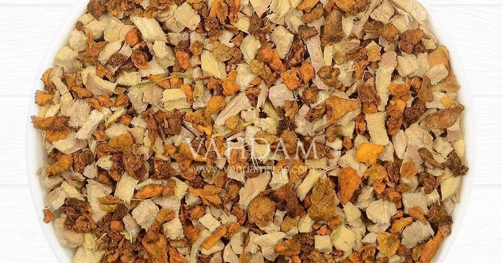 VAHDAM Turmeric Ginger Herbal Tea