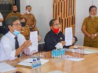 Dua Tahun Berturut-Turut, Pemkab Nisel Raih WDP dari BPK Perwakilan Sumut