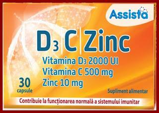 Assista Vitamina D3 + C + Zinc pareri forum