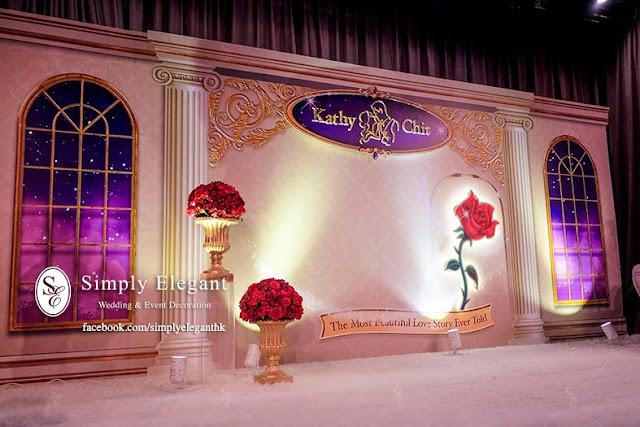 唯港薈,婚宴佈置,The Icon Hotel,Wedding Decoration