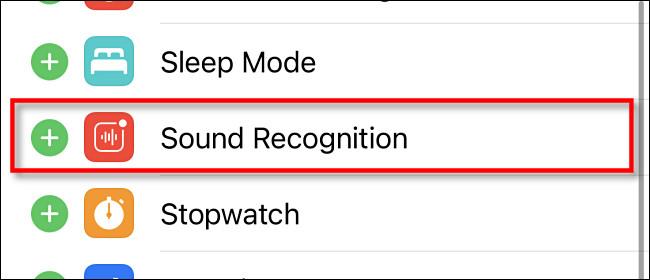 """اضغط على """"التعرف على الصوت"""" في إعدادات مركز التحكم"""
