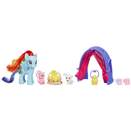 My Little Pony Camping Trip Rainbow Dash Brushable Pony