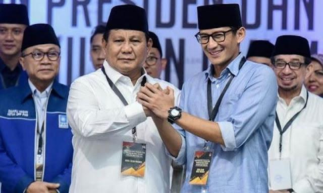 Prabowo dipastikan Tidak Akan Gugat Sengketa Pilpres ke Mahkamah Internasional