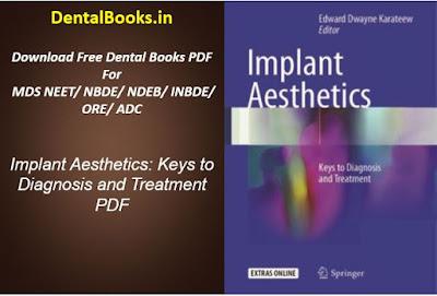 Implant Aesthetics: Keys to Diagnosis and Treatment PDF