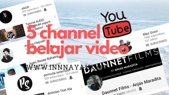 5 Rekomendasi Channel Youtube Untuk Belajar Videografi