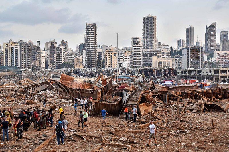 Físico explica la fatal onda expansiva tras explosión en Beirut