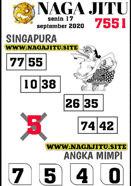 Kode syair Singapore Kamis 17 September 2020 229