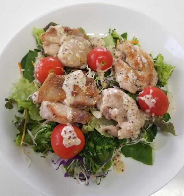 Chicken Salad w/ Sweet & Sour Dressing