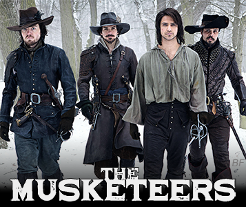 the musketeers konusu