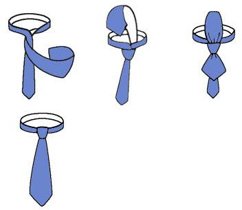 Cách thắt cà vạt nhanh nhất
