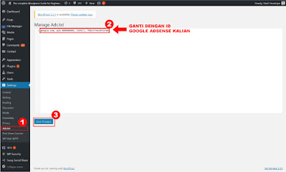 Membuat ads.txt untuk google adsense