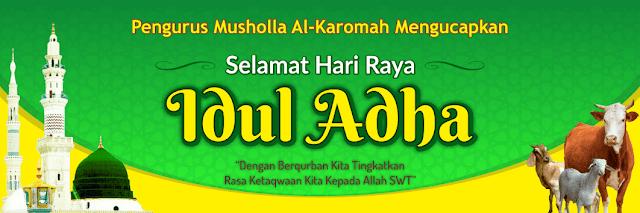 Contoh Desain Banner Idul Adha 1442 H Tahun 2021