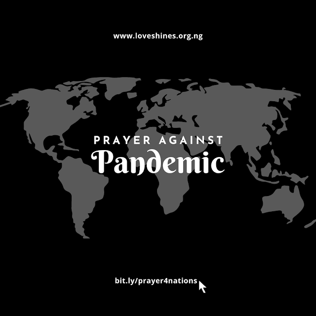 Prayer against pandemic