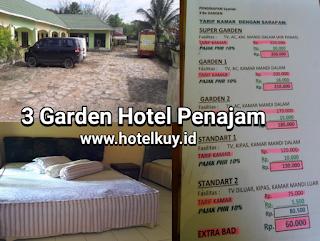 penginapan 3 Be Garden Hotel Penajam