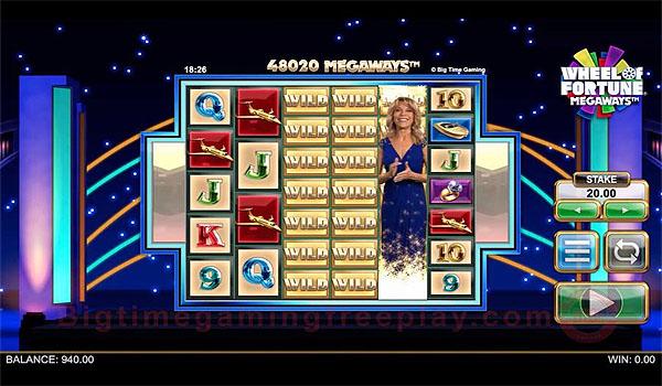 Main Slot Gratis Indonesia - Wheel of Fortune Megaways (Big Time Gaming)