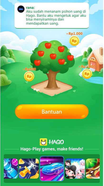 hago pohon uang cara mendapat uang
