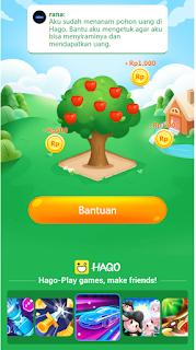Hago pohon uang || Cara Mendapat Uang Dengan Main Hago