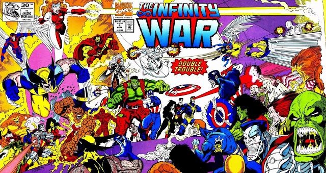La Guerra del Infinito - Portada del Número 4