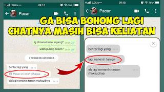 Cara Mengetahui Isi Chat Whatsapp Yang Sudah Di Hapus Tanpa Wa Mod