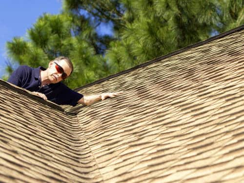 check the roof in summer