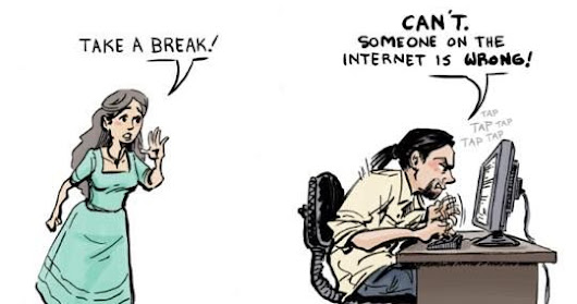 Social Media Humor  - Someone on the Internet is Wrong!