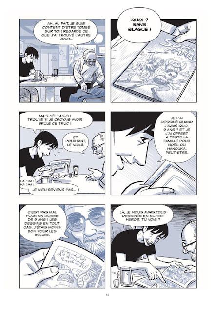 Le Sculpteur page 14 aux éditions Rue de Sèvres